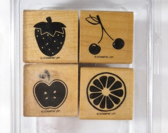 "Stampin Up ""Tart & Tangy"" Stamp Set"