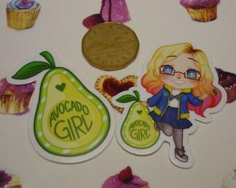 AvocadoGirl Stickers