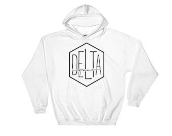 Delta Gamma Hoodie, Delta Gamma, Delta Gamma Shirt, Delta Gamma Sweatshirt, DG, Sorority Sweatshirt, Sorority Gift, Delta Gamma Gift, Delta