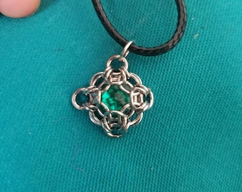 Chainmaille Capture Pendant
