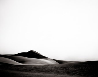 Abstract Landscape - Desert Photography - Danish Modern - Modern Home Decor Fine Art Photography