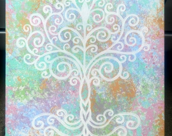 Awakening - Bodhi Tree Painting