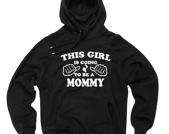 To Be A Mommy  Hoodie Future mommy mom sweater baby announcement Sweatshirt Gift For Mother