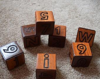 Handmade Wooden Blocks