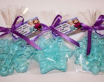 30 Frozen Soap Favors, Disney Frozen, Frozen Birthday Party Favors