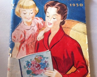 Le petit Écho de 1950's vintage fashion Almanac