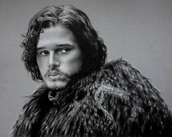Kit Harington as Jon Snow Drawing