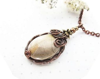 wire wrapped pendant  tutorial - jewelry pattern, jewelry tutorial, wire wrapping tutorial - tutorial V
