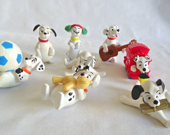 101 Dalmation McDonalds Toys 8 Happy Meal Give Away Lot B