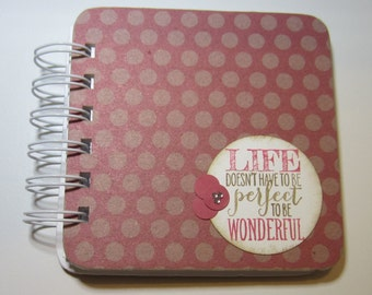 Life Polka Dot Password Book