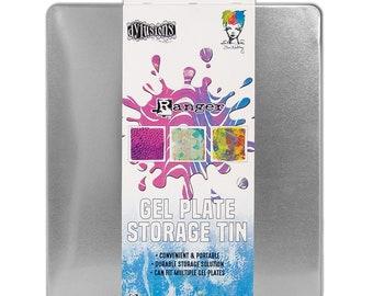 Ranger Ink Gel Plate Storage Tin-Dylusions-Ranger, Dyan Reaveley, and Dina Wakley