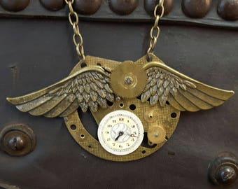 Unique Steampunk Necklace