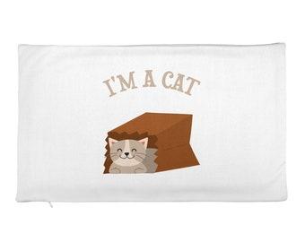 I'm a Cat Rectangular Pillow Case