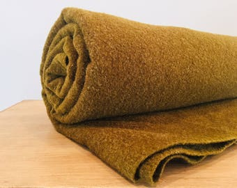 Wool Military Blanket Forest Green Army Green