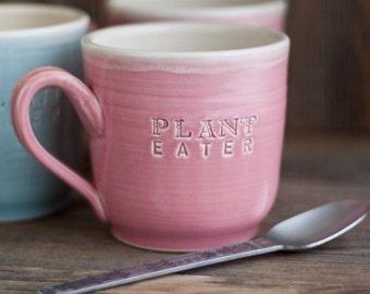 Plant Eater - Vegan Dish - Mug - READY TO SHIP