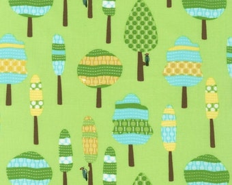 Trees from Roughin' It by Laurie Wisbrun for Robert Kaufman Fabrics 1 Yard Cut