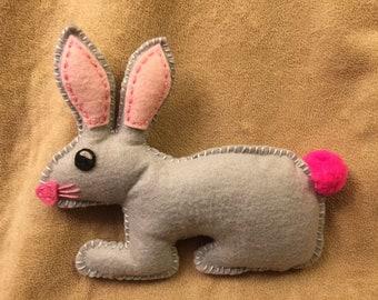 Felt Stuffed Bunny Rabbit