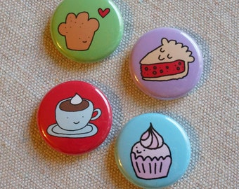 Cafe Dreams Button Set