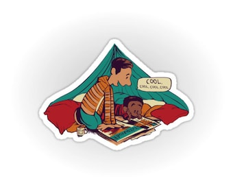 Troy and Abed's Dope Adventures sticker