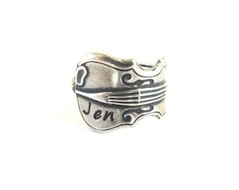 Customizable Violin Ring