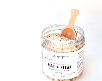 Rest and Relax Bath Soak 16oz