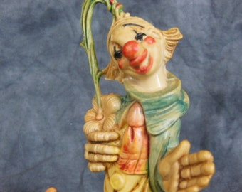 Two Vintage Clowns - Made in Italy