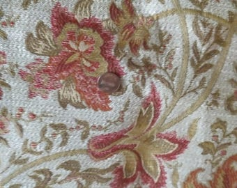 Upholstery Fabric Floral Beautiful tapestry look (41)