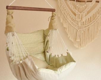 Hammock Kids - Baby Hammock - Pendant Chair - Swing - Hammock - Children's furniture - Child chair - Nursery Decor - Baby Shower Gift