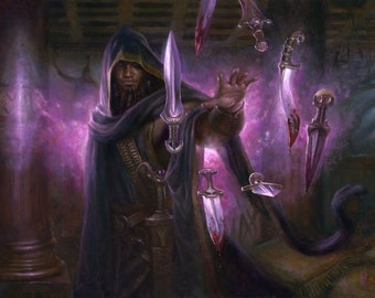 Agent of the Fates, signed giclee print