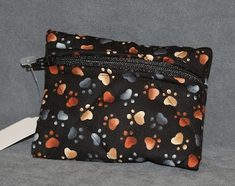 Paw Print Pouch  - Small (S63)