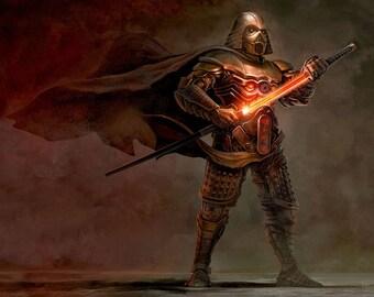STAR WARS - Samurai Darth Vader