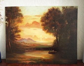 Oil painting. Landscape Painting, Landscape Oil Painting