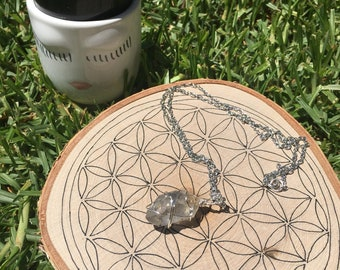 Tibetan Quartz Spirit Necklace