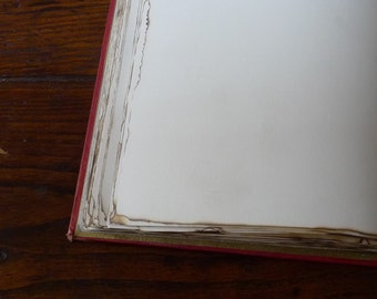 OPTION: Burned Edges add on for a Spellbinderie Guestbook or Journal order