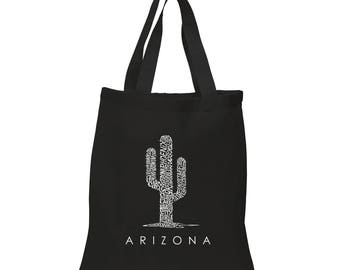 Small Tote Bag - Created Using Popular Arizona Cities