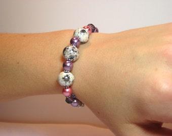 Pretty in Pastel - Interchangeable Beaded Watch Band