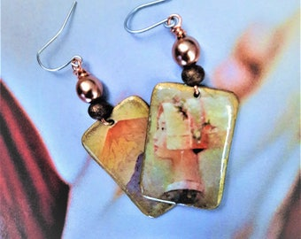 Earrings Asian mists
