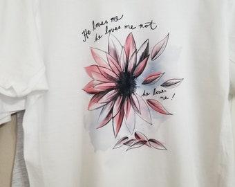 Flower He Loves me, He Loves me Not Medium