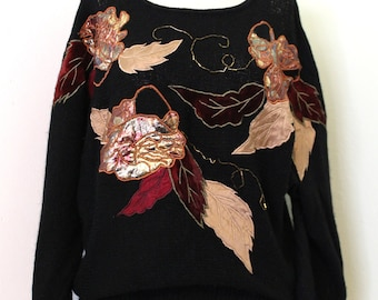 Fall Leaves Sweater