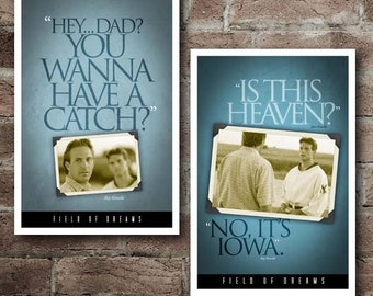 """Field Of Dreams """"Hey Dad""""/""""Is This Heaven"""" COMBO Pack: Free Shipping w/ Coupon Code*"""
