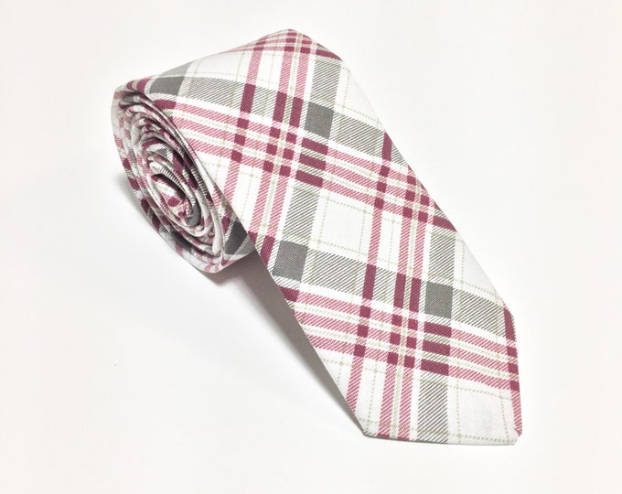 """""""They've Gone To Plaid"""" Plaid Tie"""