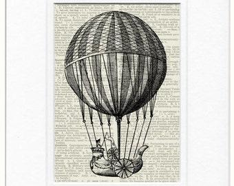 18oo's flying balloon I print