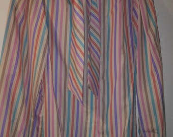 CLEARANCE Retro Womens Striped Blouse by Paris Station