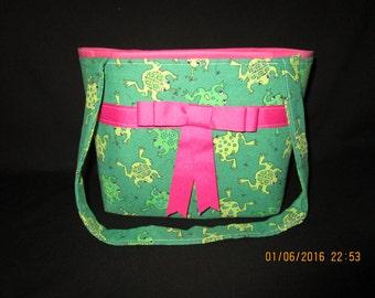 Cute frog purse
