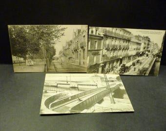 3 Aq. St. Nazaire, France Postcards