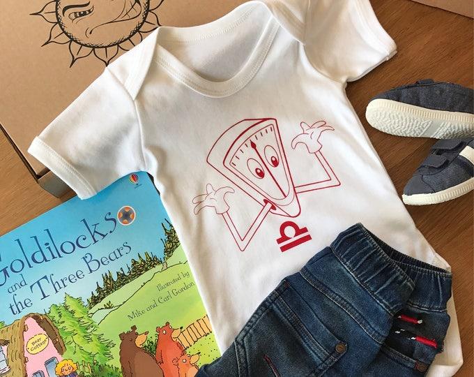 Libra Zodiac - Organic Baby Bodysuit