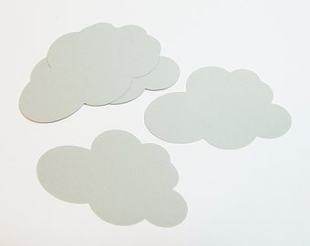Cloud Die Cuts Set of 40