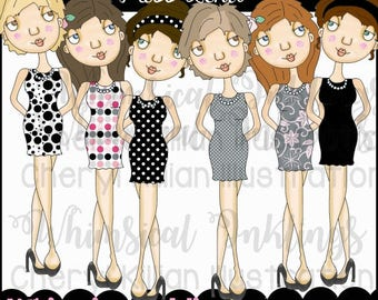 Miss Lena Clipart Collection- Immediate Download