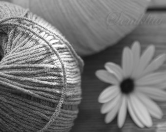 Digital Download photography Flower and thread