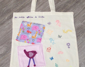 Girl bag for carrying books or business